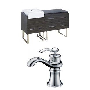 Alican 61 Single Bathroom Vanity Set