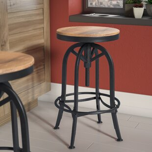 Southbridge Adjustable Height Swivel Bar Stool