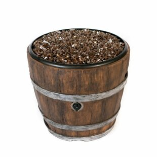 Tretco Wine Barrel Natural Vent Chat Fire..