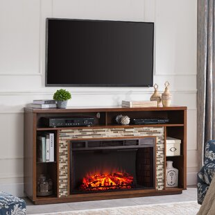 TV Stand for TVs up to 60 with Electric Fireplace