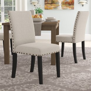 Ashby Upholstered Dining Chair (Set of 2) Alcott Hill