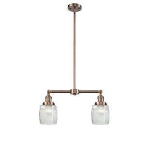 Breakwater Bay Mireya 2-Light Kitchen Island Pendant