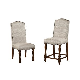Gracie Oaks Yuqi Upholstered Dining Chair (Set of 2)