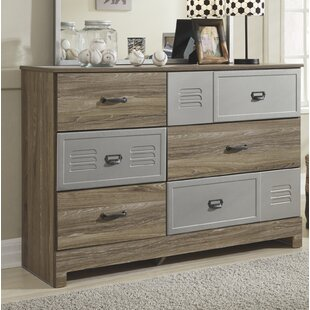 Harriet Bee Brockett 6 Drawer Dresser