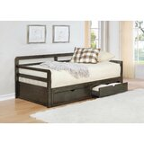 Tanvir Twin Daybed with Trundle by Gracie Oaks