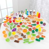 Covey Deluxe Tasty Treats Pretend Play Food Set