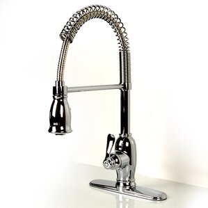 D'Vontz Single Handle Deck Mounted Kitchen Faucet