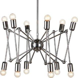 Corrigan Studio Newport Spider Sputnik Chandelier