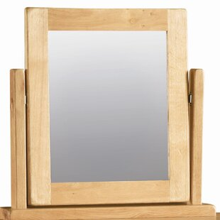 Rectangular Dressing Table Mirror By Natur Pur