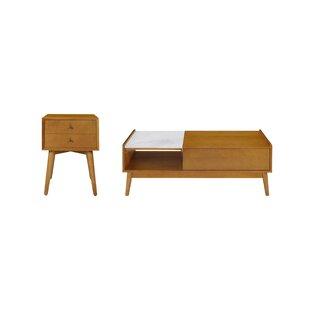 Landon 2 Piece Coffee Table Set