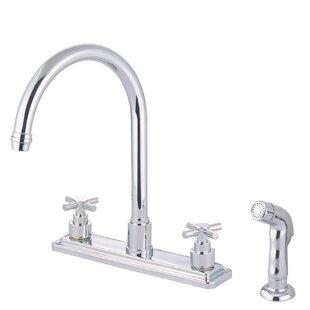 Elements of Design Tampa Double Handle Kitchen Faucet