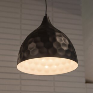 Williston Forge Boivin 1-Light Dome Pendant
