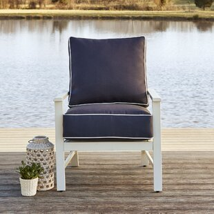 Kent Club Chair with Cushions by Longshore Tides