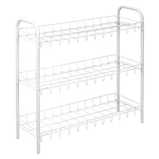 3-Tier 9 Pair Shoe Rack Metaltex