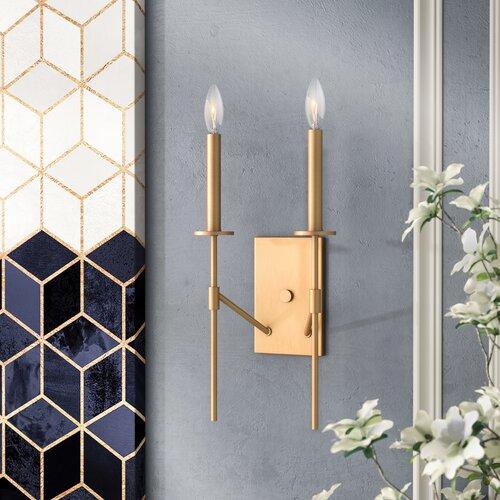 Willa Arlo Interiors Diamanta 9 Light Candle Style Tiered Chandelier Reviews Wayfair