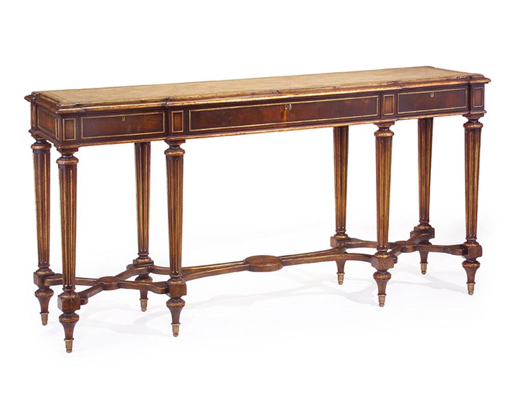 John Richard Marble Top Console Table Wayfair