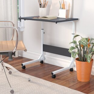 Blondene Adjustable Wood Standing Desk by Ebern Designs