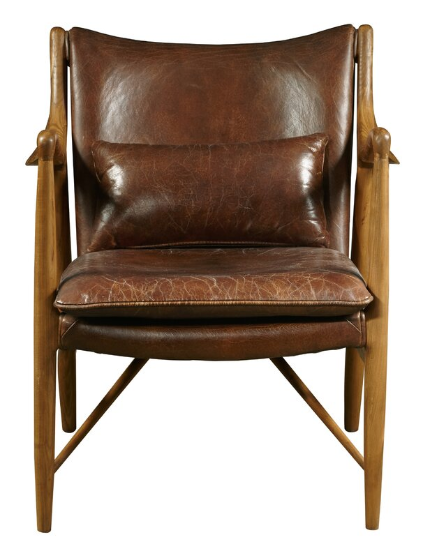 Leather Chairs Youll Love Wayfair
