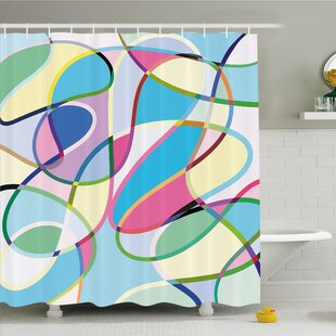 Modern Art Home Odd Experimental Altering Active Motion States Artwork Shower Curtain Set