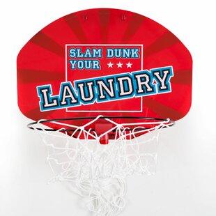 Trademark Home Collection Basketball Laundry Basket