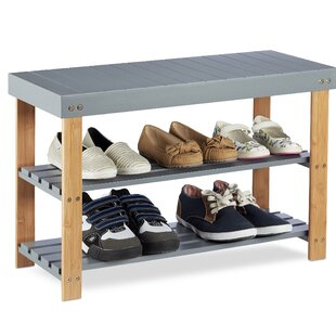 Review Clarion Wood Storage Hallway Bench