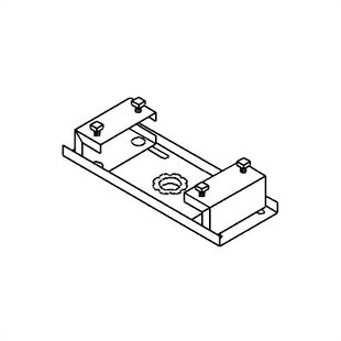 Peerless TV and Projector Ceiling Mounts and Parts I-Beam Clamp