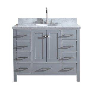 Utley Modern 43 Single Bathroom Vanity Set by Andover Mills