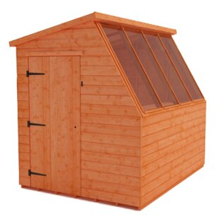 Tiger 8 Ft. W X 10 Ft. D Shiplap Pent Wooden Shed By Tiger Sheds