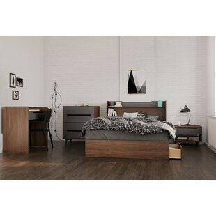 Yokota Platform 5 Piece Bedroom Set