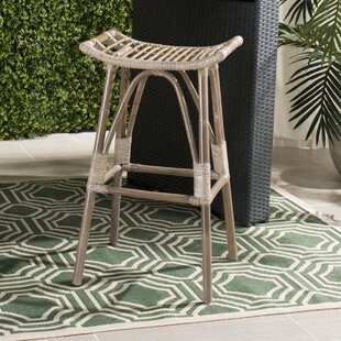 Inexpensive Alexzander 31.1 Bar Stool by Mistana Reviews (2019) & Buyer's Guide