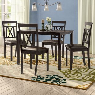 Red Barrel Studio Whitbey Modern and Contemporary 5 Piece Breakfast Nook Dining Set