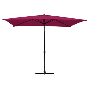Jeco Inc. 10' X 6.5' Rectangular Market Umbrella