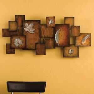 Oakes Metal Art Panel Wall Decor