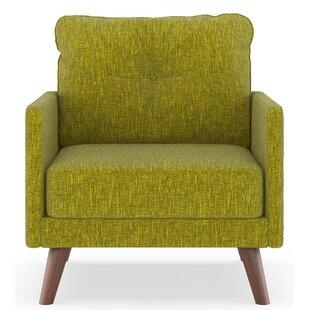 Cowart Pebble Weave Armchair by Corrigan Studio