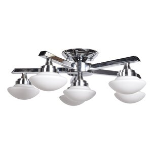 Penrod 6-Light Semi Flush Moun..