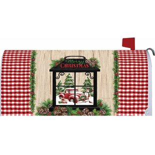 Christmas Lantern Mailbox Cover By Custom Decor