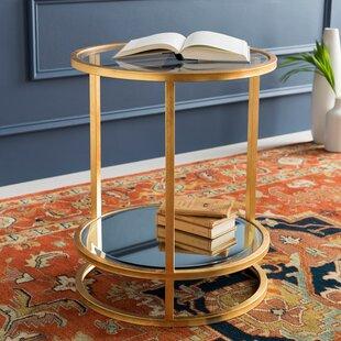 Everly Quinn Bridlington ly-Inspired End Table