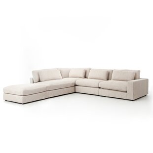 Doutzen 4 Piece Right Hand Facing Sectional with Ottoman