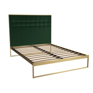 Euclid Upholstered Bed Frame By Canora Grey