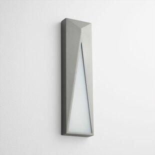 Elif 1-Light Outdoor Wall Light by Oxygen..