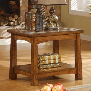 Reviews Rexford End Table By Loon Peak