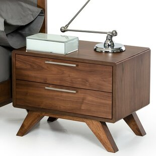 Langley Street Hali 2 Drawer Nightstand