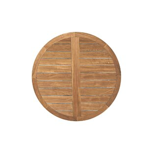 Club Round Teak Table Top