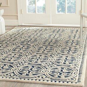 martins blue area rug