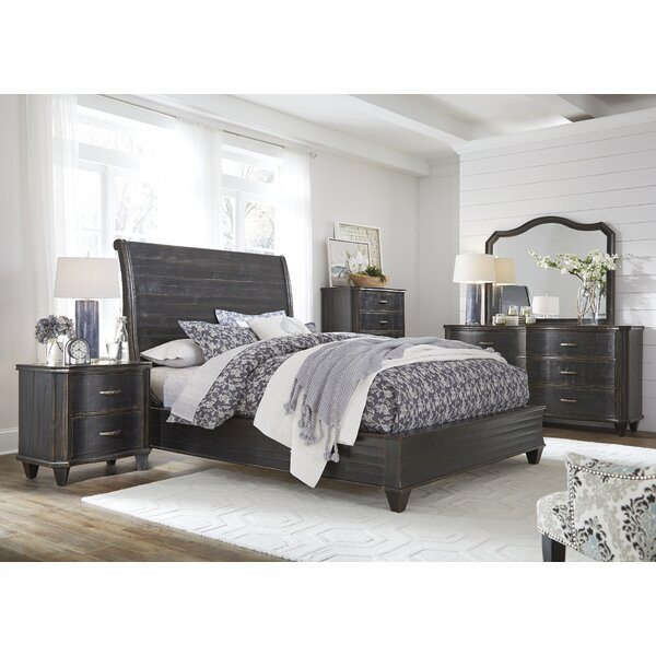 Canora Grey Tamsin Solid Wood Standard Configurable Bedroom Set Reviews Wayfair