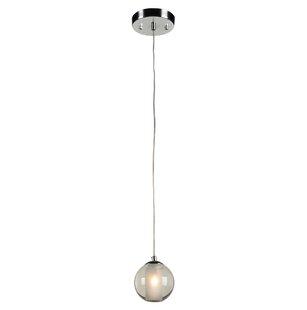 Moyer 1-Light Globe Pendant by Orren Ellis