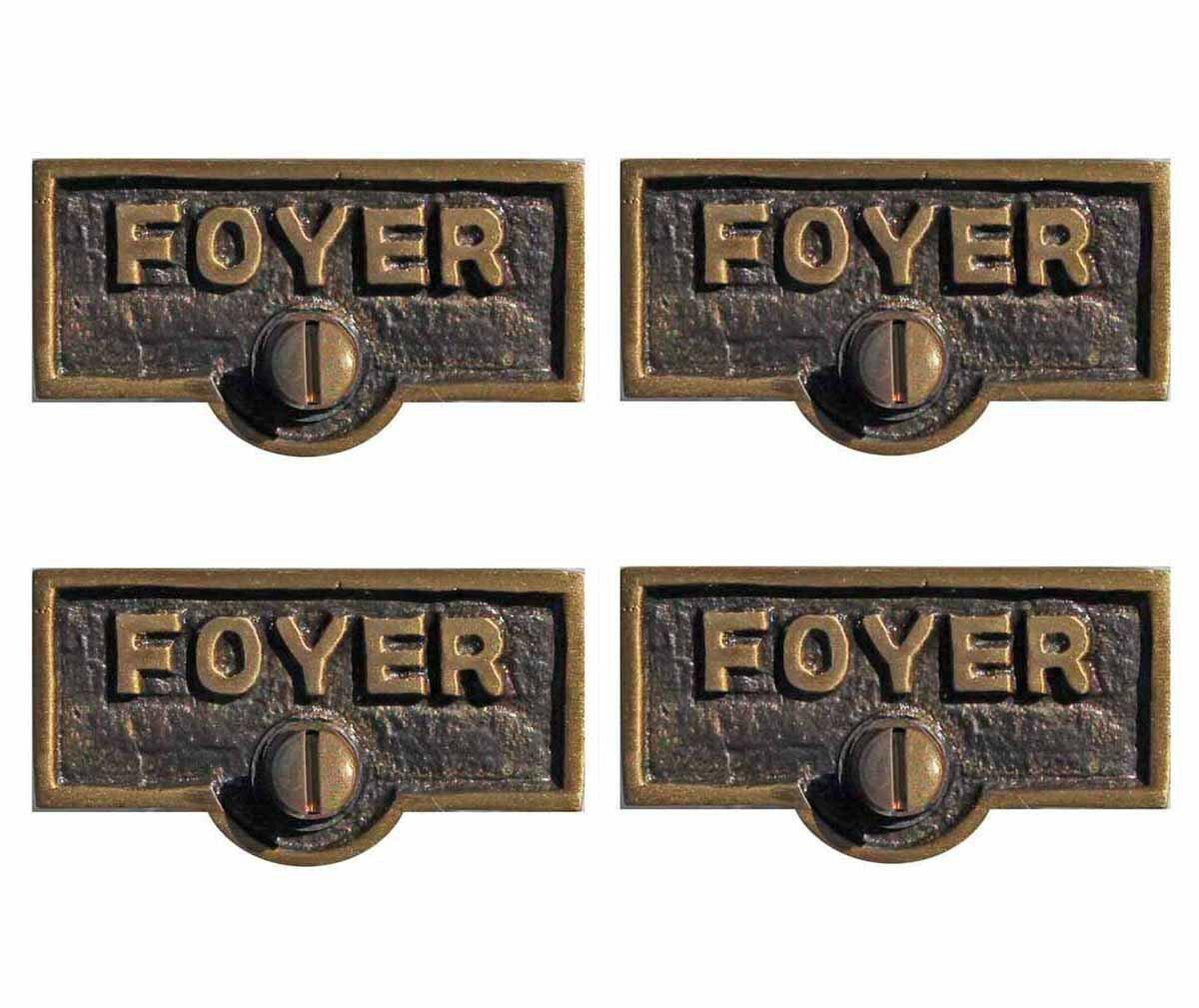 The Renovators Supply Inc Switch Tags Foyer Name Signs 1 Gang Rocker Wall Plate Wayfair