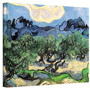 e0b4fb540d  Olive Trees  by Vincent Van Gogh Painting Print on Wrapped Canvas