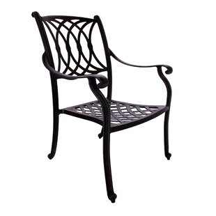 Islais Stacking Patio Dining Chair (Set of 2)