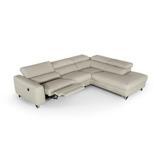 Reviews Rondo Modern Reclining Sectional by Orren Ellis Reviews (2019) & Buyer's Guide